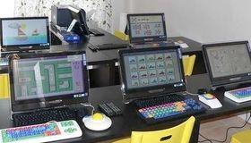 Počítačová učebňa pre školy a špeciálne školy