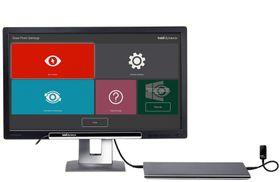 Tobii PCEye Plus navigácia + špeciálny program Gaze Viewer